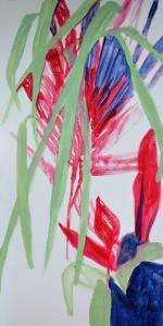 22 - Equilibrium - 2015 - 61 x 30 cm slash 24 x 12 inches - acrylic on canvas