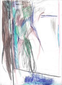 28 - Windows project - 2015 - 32 x 24 cm slash 13 x 9 inches - pencil, pen and markers on paper