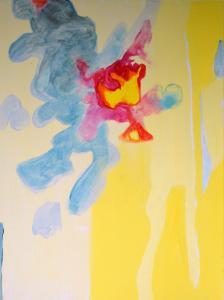 6 - Equilibrium - 2015 - 61 x 46 cm slash 24 x 18 inches - acrylic on canvas