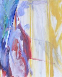 Fifth Window - 2015 - 70 x 60 cm slash 28 x 24 inches - acrylic on canvas