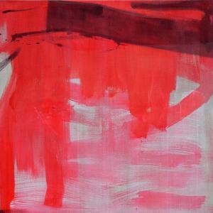 Monochrome_4 - Mereu 8 Rue... Brasov - 2016 - acrylic on linen - 125 x 125 cm slash 49 x 49 inches