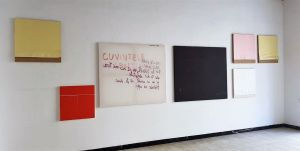 Notes of a painter exhibition by Ioana Niculescu Aron