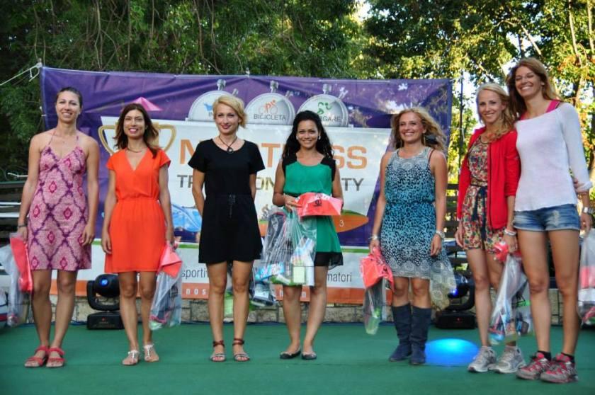 Catwalk-ul de la podiumul la stafeta feminin :)
