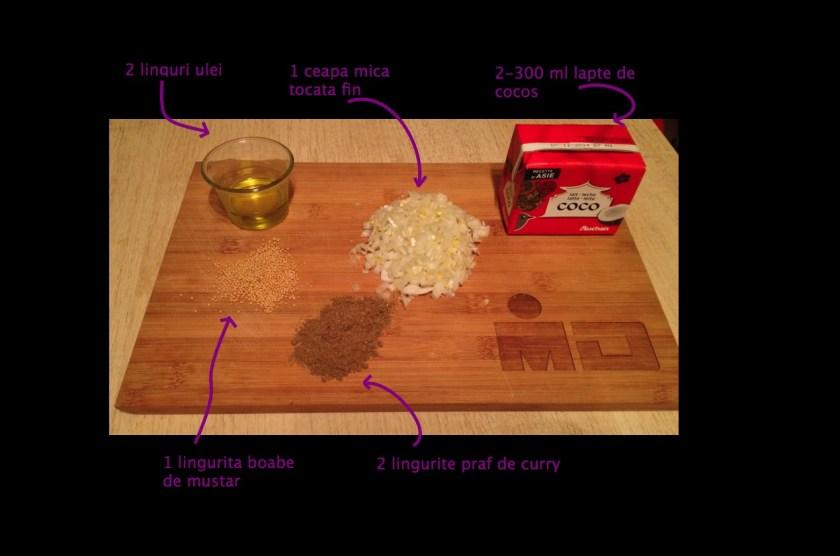 Ingredientele pentru pasul 2