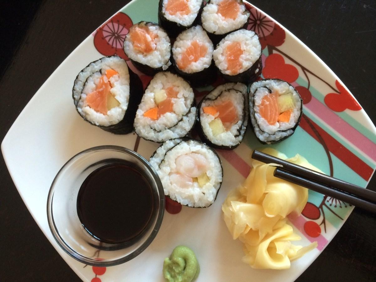 Sushi de casa pentru incepatori