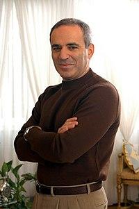 O Garry Kasparov γίνεται σήμερα 56 ετών! Χρόνια πολλά!