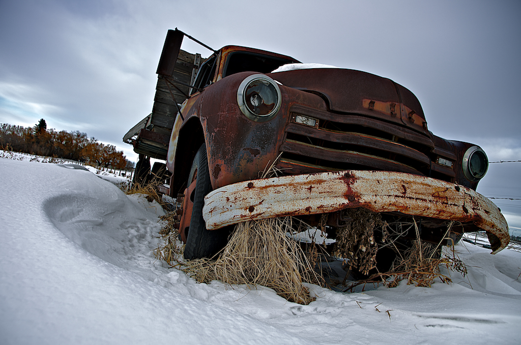 Advanced Design GM Rusty Abandoned Truck