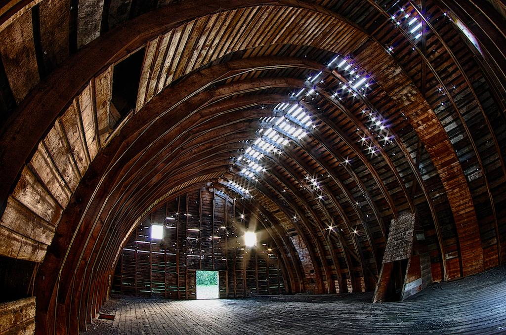 Beautiful Barn Interior