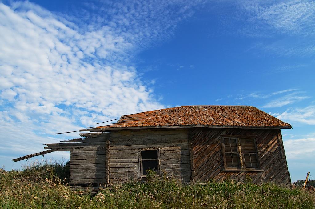 Abandoned-Settler-Home