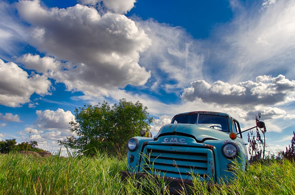 Vintage GMC Pickup Truck