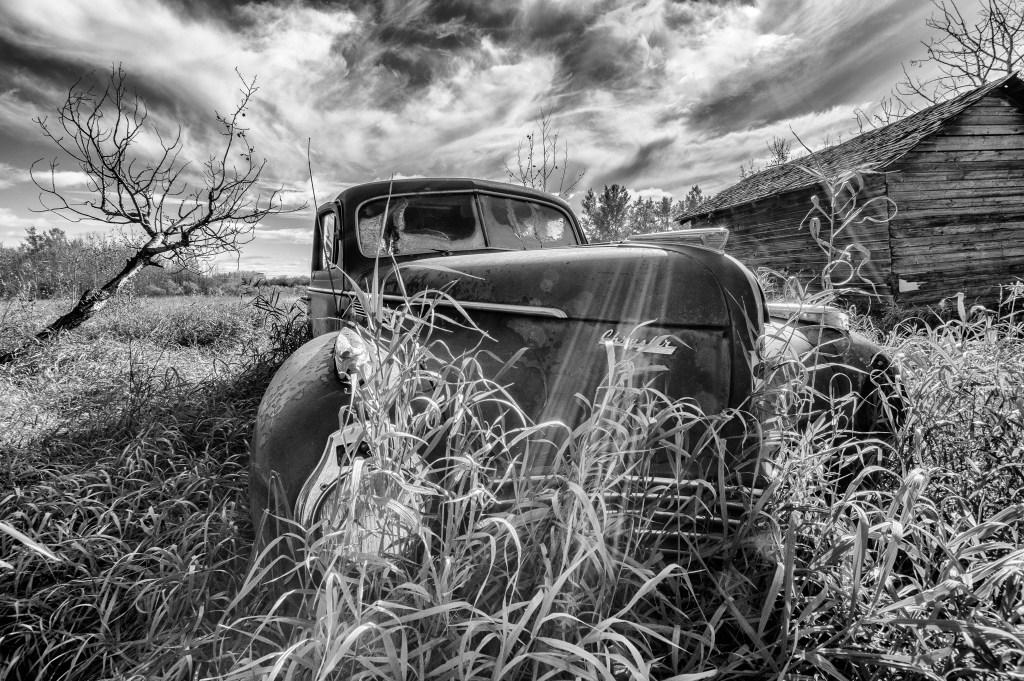 Old Chrysler Car