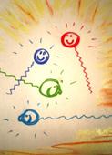 Biofotonen: kleine laagenergetische  lichtpakketjes door de cel geproduceerd in de mitochondria, JMKH