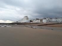 saint leonards beach - west facing