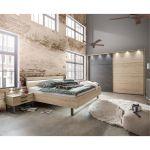 Wiemann Schlafzimmer Brussel Schrank Bett Nachttisch 160x200