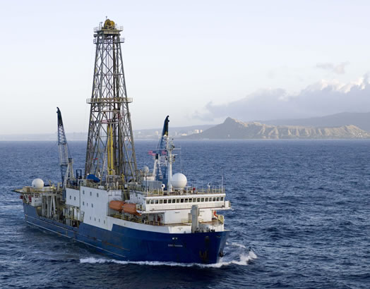Joides Resolution (http://iodp.tamu.edu)