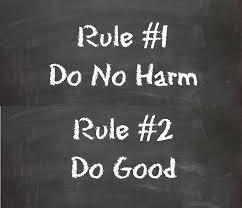 Do No Harm.
