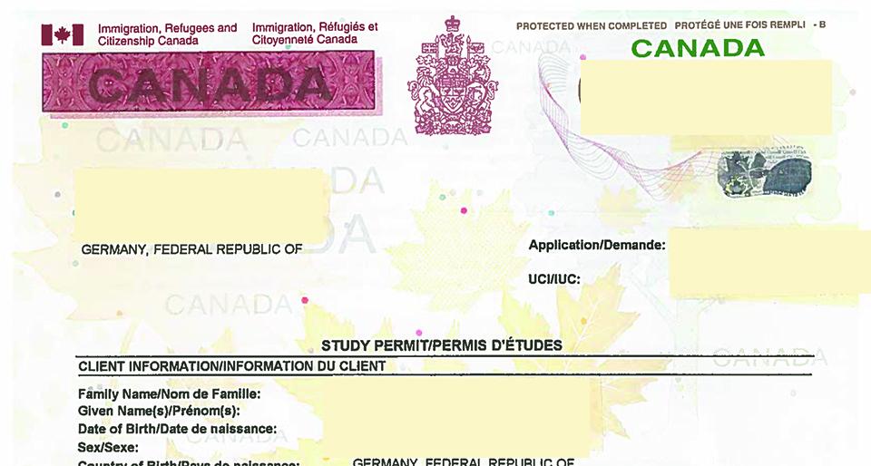 2021 canada visa study permit