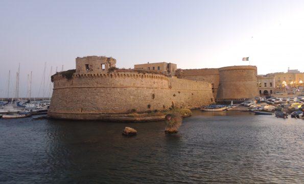 Il Castello Angioino di Gallipoli