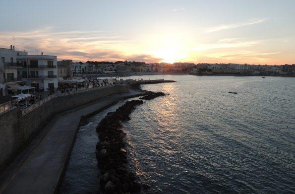 Il tramonto a Otranto