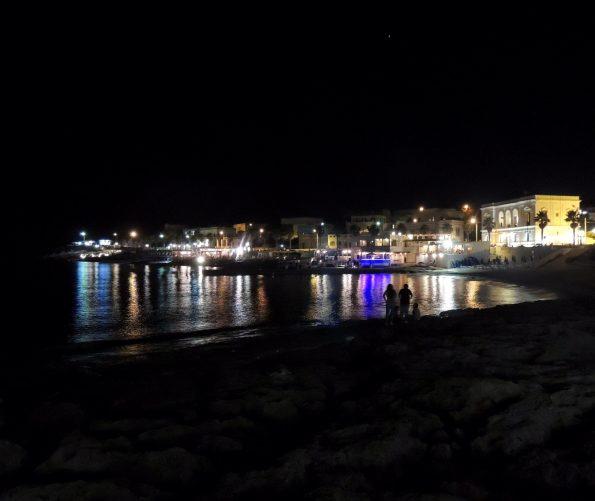 Santa Maria di Leuca di notte