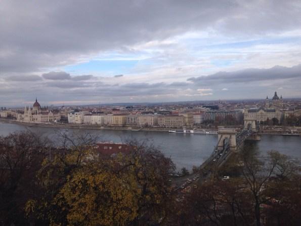 La vista dal Castello di Buda