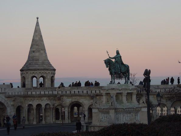 La statua di Mattia Corvino