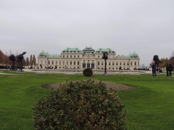 La facciata meridionale del Belvedere superiore