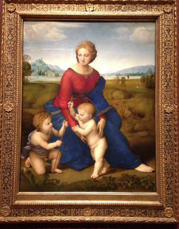 """""""Madonna del prato"""", Raffaello"""