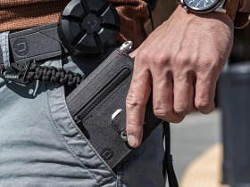 The P01 Pioneer Travel Wallet is the Ultimate EDC Carry for Your Pockets