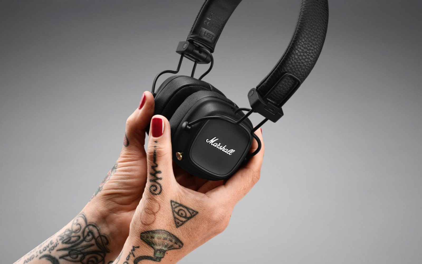 Marshall Major IV wireless headphones for a Rock Star style and quality sound