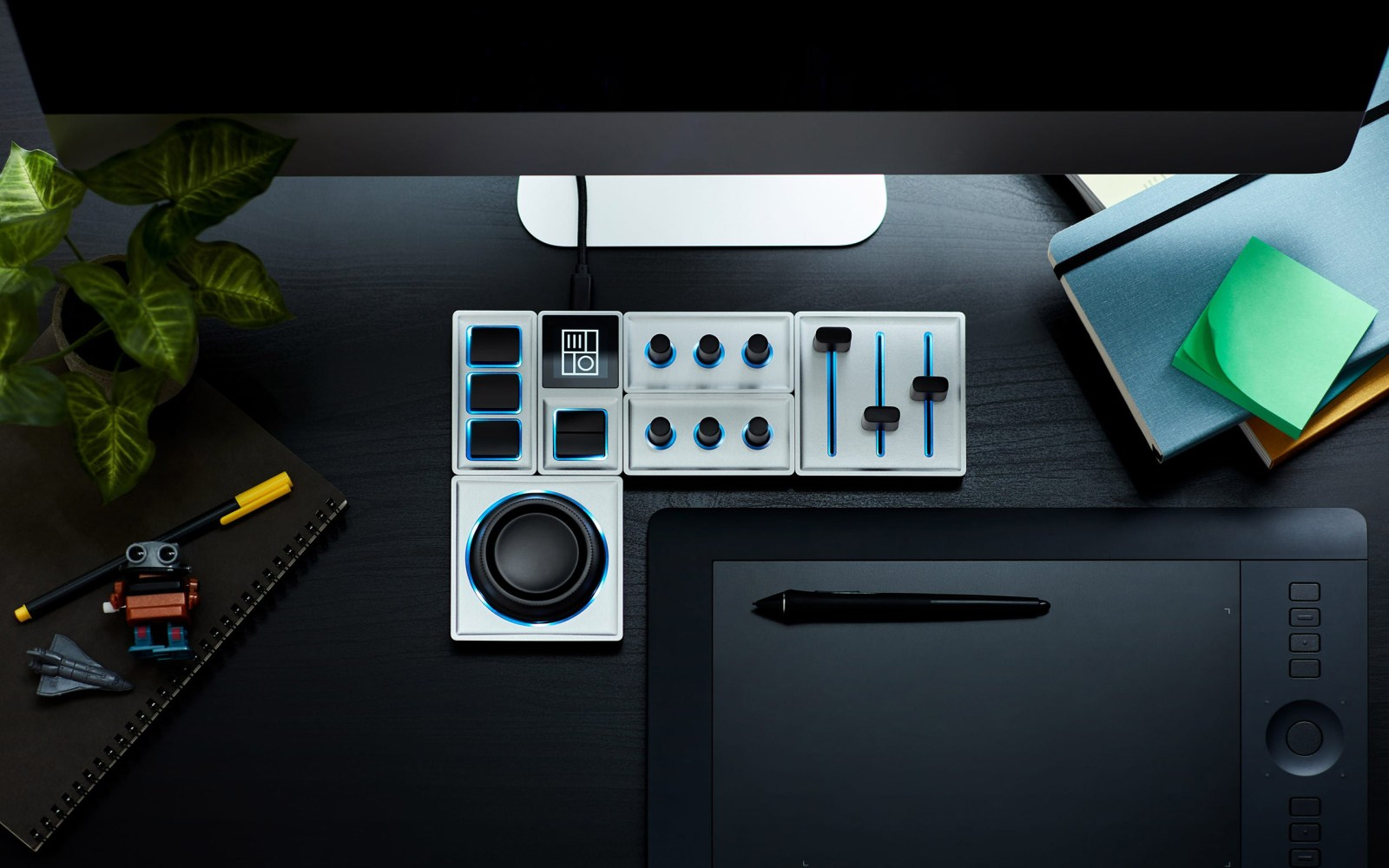 Monogram Creative Console turns your PC into an editing battlestation with levers and knobs