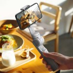 The first pocket auto-foldable 3-axis smartphone gimbal