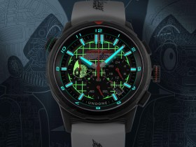 UNDONE x Astro Boy is a charming collector's watch with two-tone luminescent details