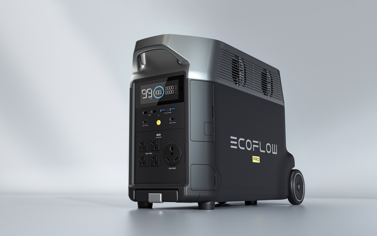 With EcoFlow DELTA Pro your home will not fear any solar storm blackout