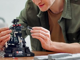 Build Darth Vader's meditation chamber with this LEGO set for adults