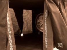 Particolare del Sipario cucito dalla prof.ssa M. P. Burocchi