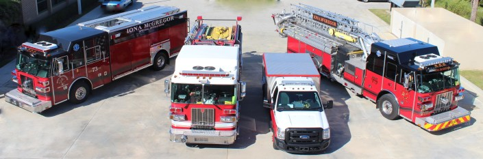 Iona McGregor Fire District Engines & Rescue Vehicles