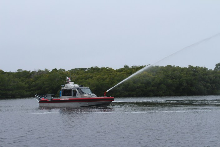 New Firefighting Boat