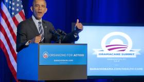 Obama Attends OFA Obamacare Summit