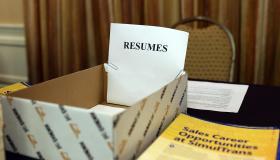 Career Fair Held In San Mateo