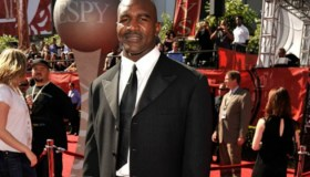 Evander Holyfield Red cArpet