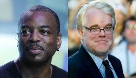 LeVar Burton and Philip Seymour Hoffman