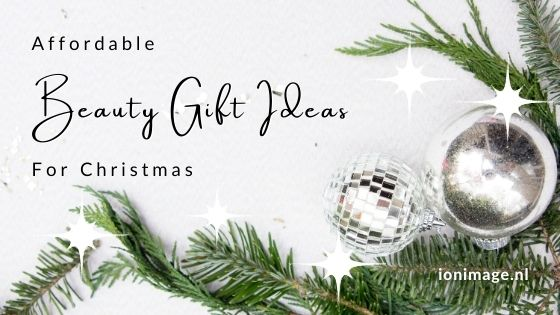 Affordable Beauty Gift Ideas For Christmas that don't break the bank selected by your personal stylist Jenni at I on Image