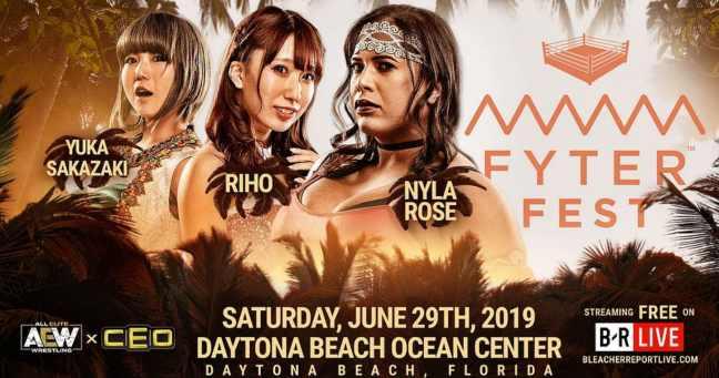 Yuka Sakazaki vs Riho vs Nyla Rose