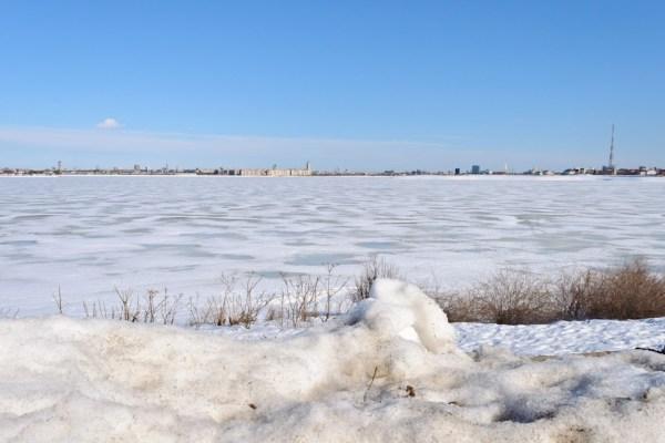 Lacul Morii iarna 2012