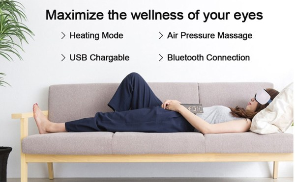 Ion Wellness Eye Massager Couch