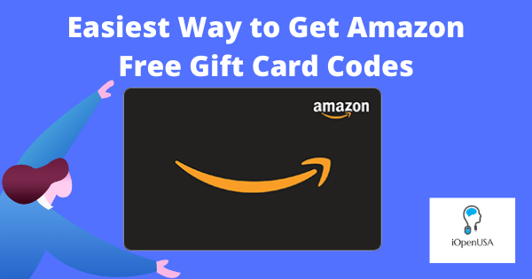 Easiest Way to Get Amazon Free Gift Card Codes