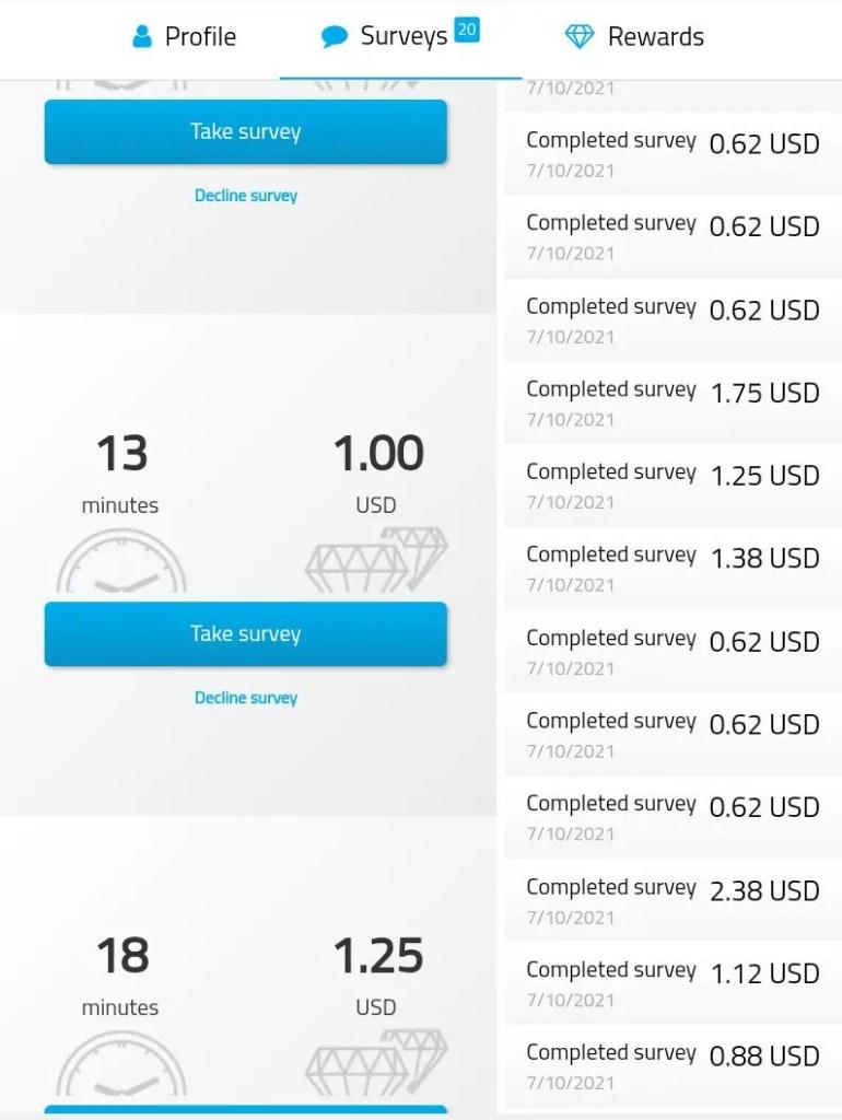 iopenusa paid surveys at home free amazon codes