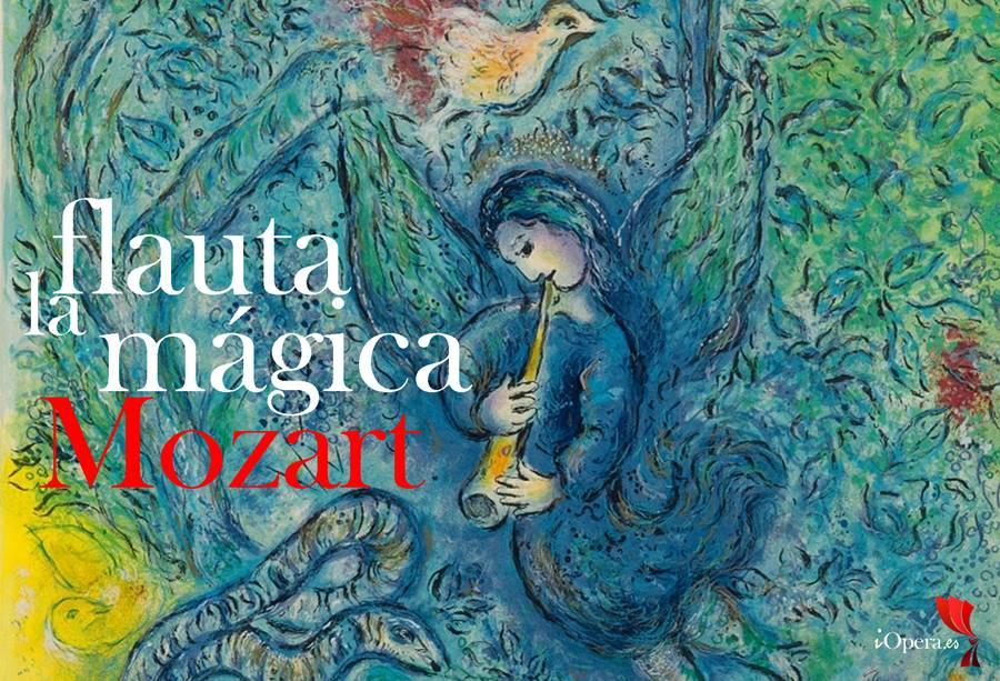 la Flauta mágica Marc-Chagall-La-flute-enchantee Mozart