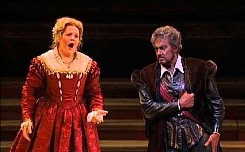 Fleming y Domingo en Otello